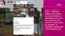 Dijon-Amiens : Prince Gouano victime de racisme, son message de tolérance
