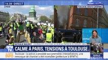 Acte XXII des gilets jaunes: tensions à Toulouse, calme à Paris (2/2)