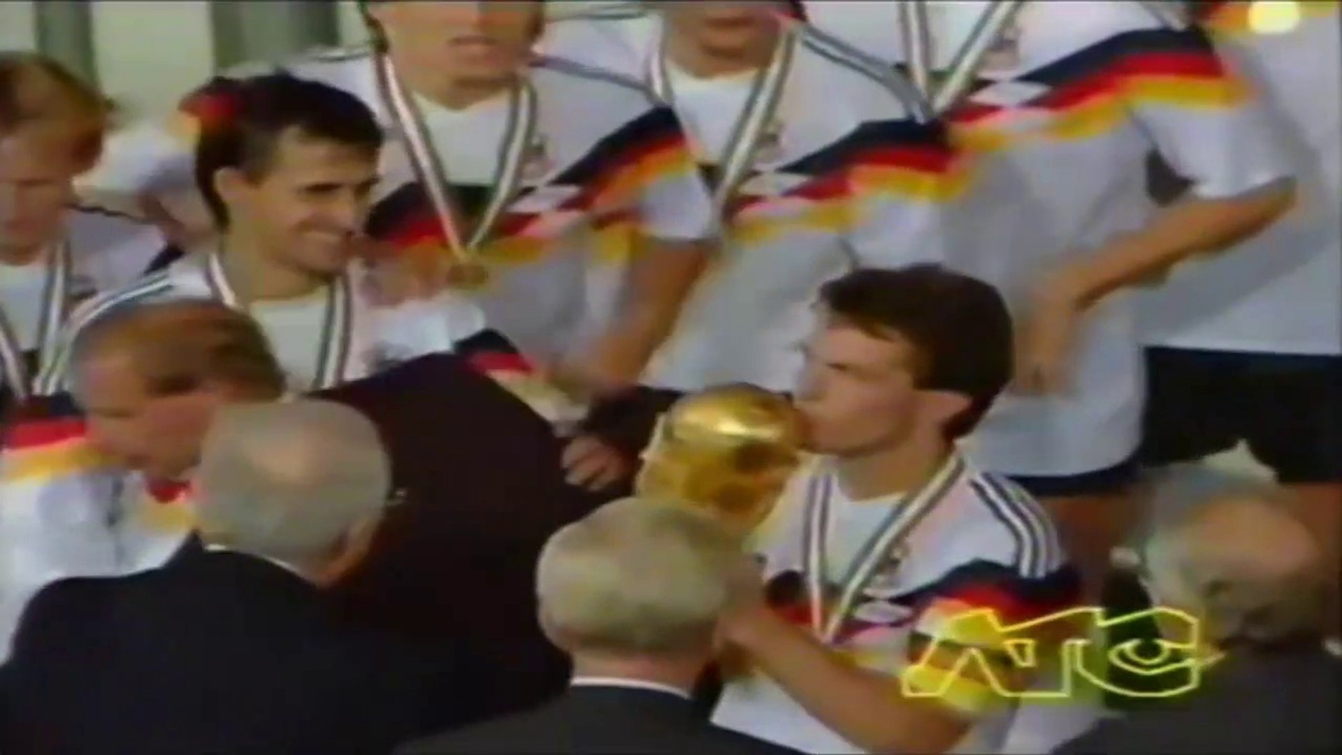 Lothar Matthäus ● Skills ● West Germany 1:0 Argentina ● World Cup Final 1990