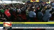 Pdte. Maduro: Venezuela rechaza las amenazas de guerra de Bolsonaro