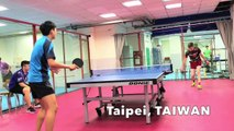 Insane Table Tennis Talent