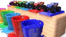 تعلم الألوان مع ماكوين للأطفال - السيارات 3D �