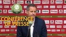 Conférence de presse AC Ajaccio - Grenoble Foot 38 (1-2) : Olivier PANTALONI (ACA) - Philippe  HINSCHBERGER (GF38) - 2018/2019