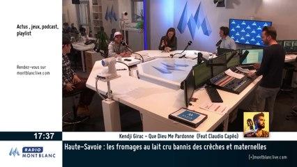 Thomas Fanara en direct sur Radio Mont Blanc