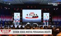 Jokowi-Ma'ruf dan Prabowo-Sandi Sampaikan Visi Misi di Debat Final Pilpres 2019