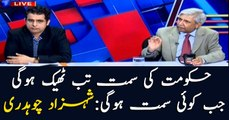 Shehzad Chaudhry says having a direction is necessary for government