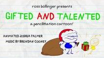 Le Crayon Ruines Crayon Amusant's de Noël! en DOUÉS ET TALENTUEUX - Animation Dessins animés pour les Enfants