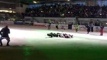 hockey sur glace : quand une otarie fait le spectacle à Poissompré
