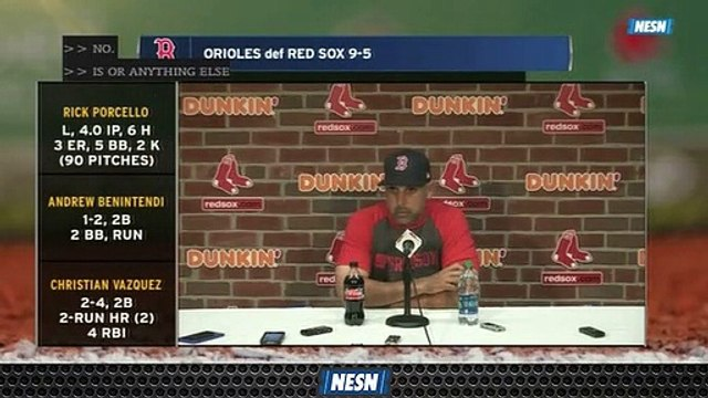 Alex Cora Says Red Sox Have To Get Better At Getting Ahead After Loss To Orioles