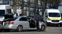 London Police Fire At Suspect Ramming Ambassador's Car