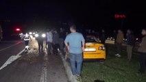 Adıyaman Lastiği Patlayarak Takla Atan Otomobildeki 7 Kişi Yaralandı