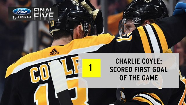 Ford Final Five Facts: Bruins Bounce Back To Even Series Against Maple Leafs