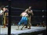 Rayo De Jalisco Jr /La Fiera/Tony Salazar vs El Satanico/MS-1/Masakre (CMLL March 1987)