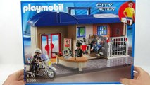 Playmobil Police français: poste de Police avec Voleur & Police à Emporter | Gertie S. Bresa