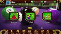 1 time - all balls -  Pool 8 balls [Gaming corner ]