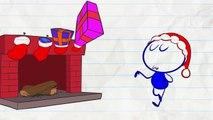 Crayon Amusant est Santa Claus! - PAS SI le SILENCE de la NUIT - Animation Dessins animés pour les Enfants