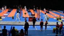 Escrime Nîmes 2019 Circuit National Elite Dimanche 14 Avril Quart de finale tableau principal