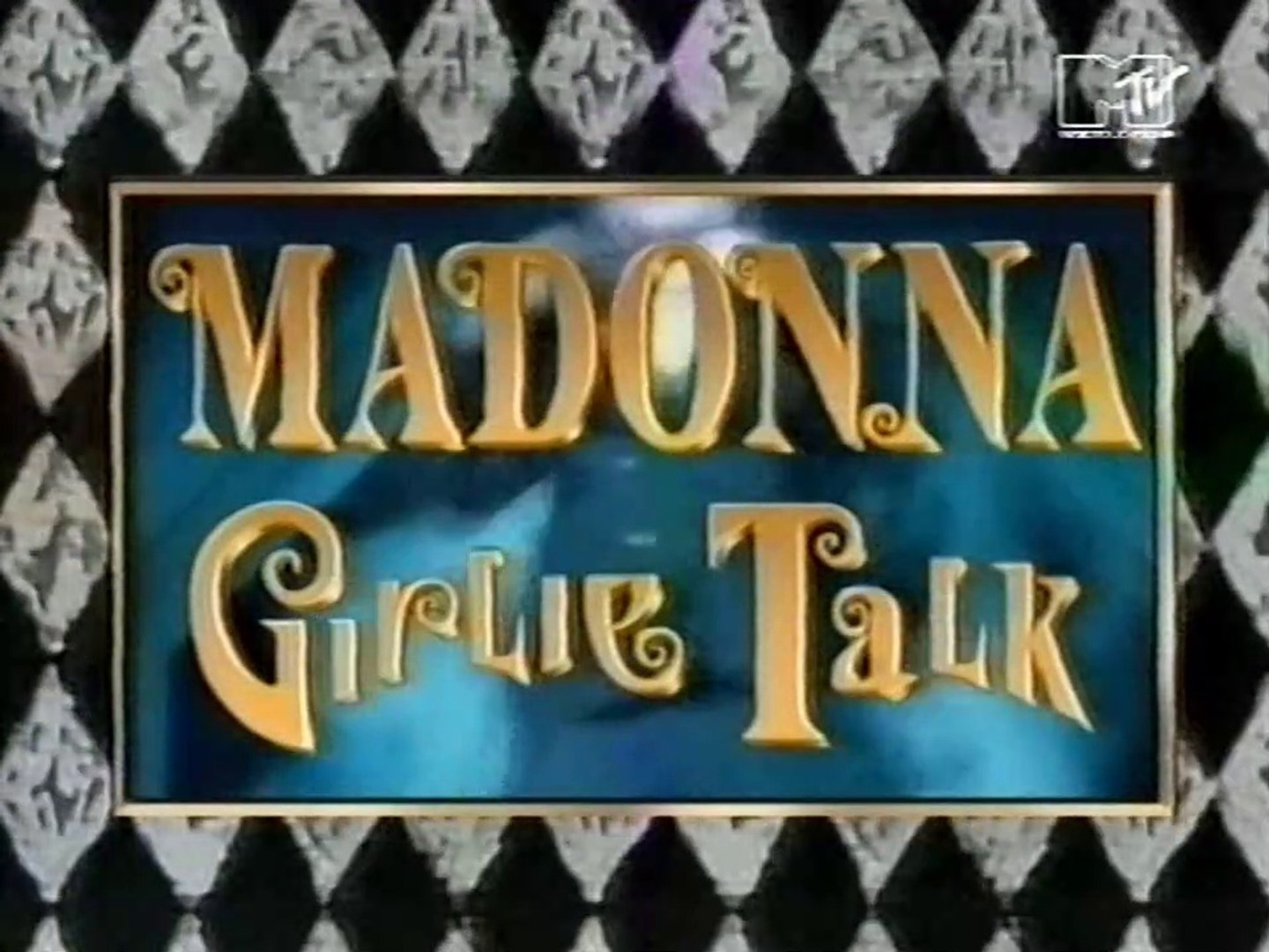 MADONNA/ MTV SPECIAL/ 1993/ GIRLIE TALK/ INTERVIEW/ THE GIRLIE SHOW PROMO/ THESHOW 2019