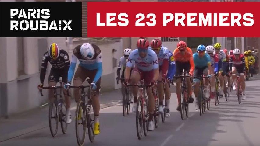 Les 23 premiers - Paris-Roubaix 2019
