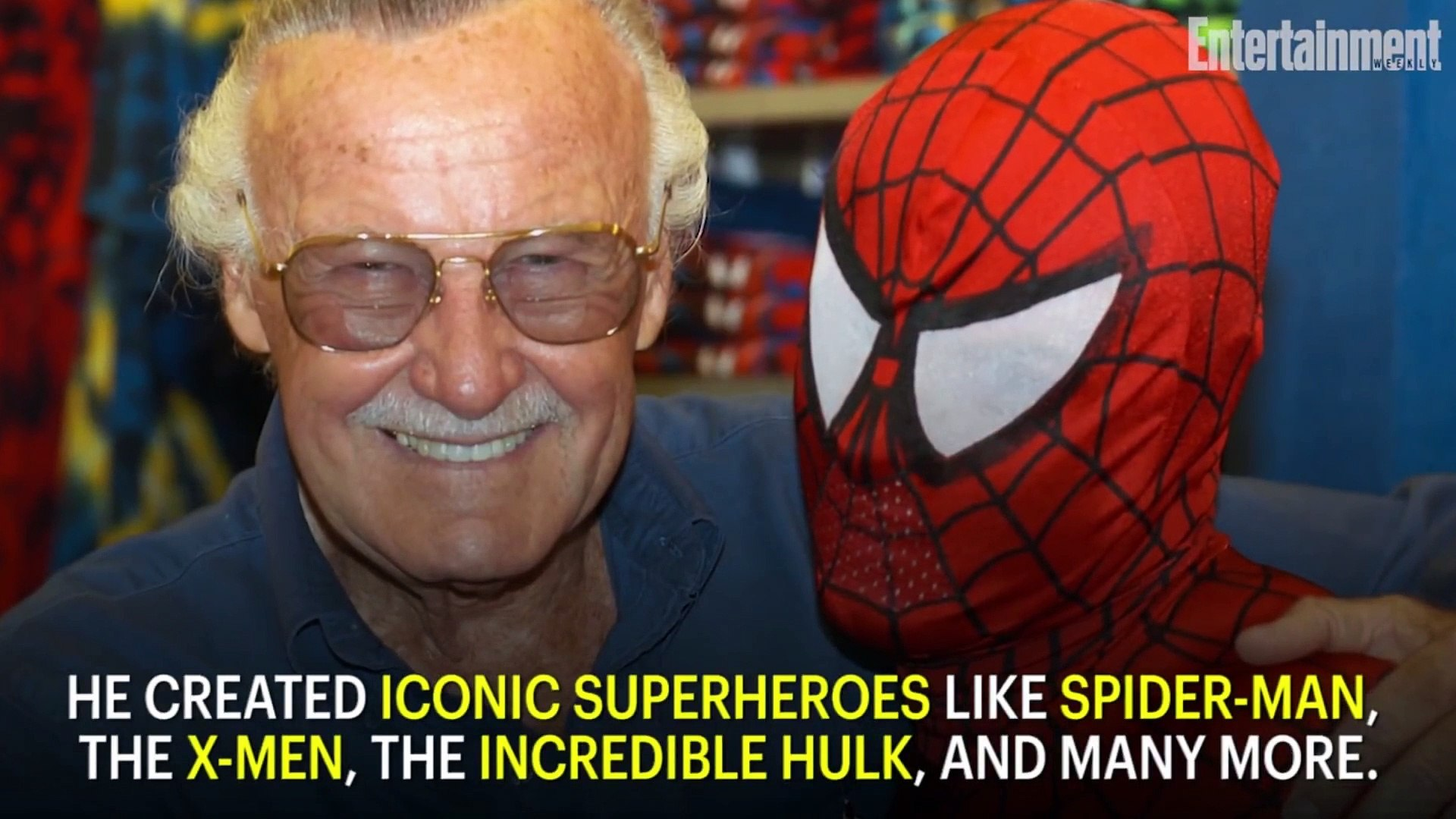 Marvel Comics Legend Stan Lee Dies At 95 - News Flash - Entertainment Weekly
