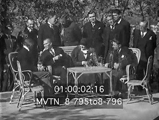 Atatürk'ün ABD Büyükelçisi Grew ile Yaptığı Fransızca Sohbet