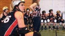 Roller derby : les bisontines Woodoo Vixens s'inclinent face aux filles Auver'Niaks