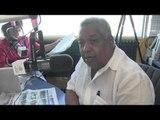 Melton Pineda comenta protesta frente a palacio de justicia contra sentencia tribunal