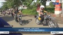 Pangdam III Siliwangi & Kapolda Jabar Berpatroli Pantau Pengamanan Pemilu 2019
