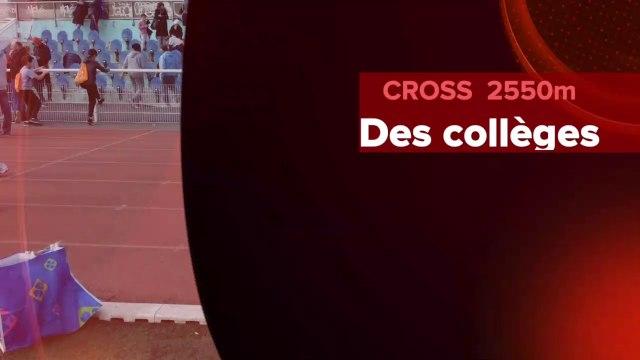 Cross des collèges 2019 Paris Stade Suzanne Lenglen Catégorie benjamins -Médaille de bronze #SHENRE #CACHEMIRE