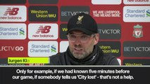 (Subtitled) 'We can close the slipping book now!' Klopp