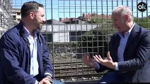Eduardo Inda entrevista a Santiago Abascal en Amurrio (COMPLETA)