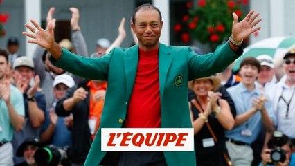 Woods a repris le fil de sa légende - Golf - Augusta