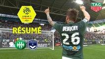 AS Saint-Etienne - Girondins de Bordeaux (3-0)  - Résumé - (ASSE-GdB) / 2018-19