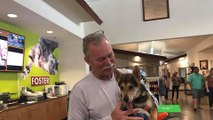 Charleston Firefighter Adopts Puppy He Pulled from Pile of Rocks