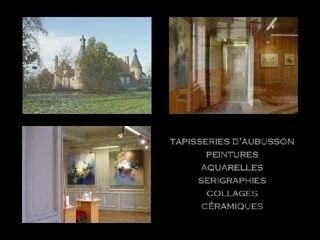 Tapisseries d'Aubusson - peintures de Jean-Michel Lartigaud