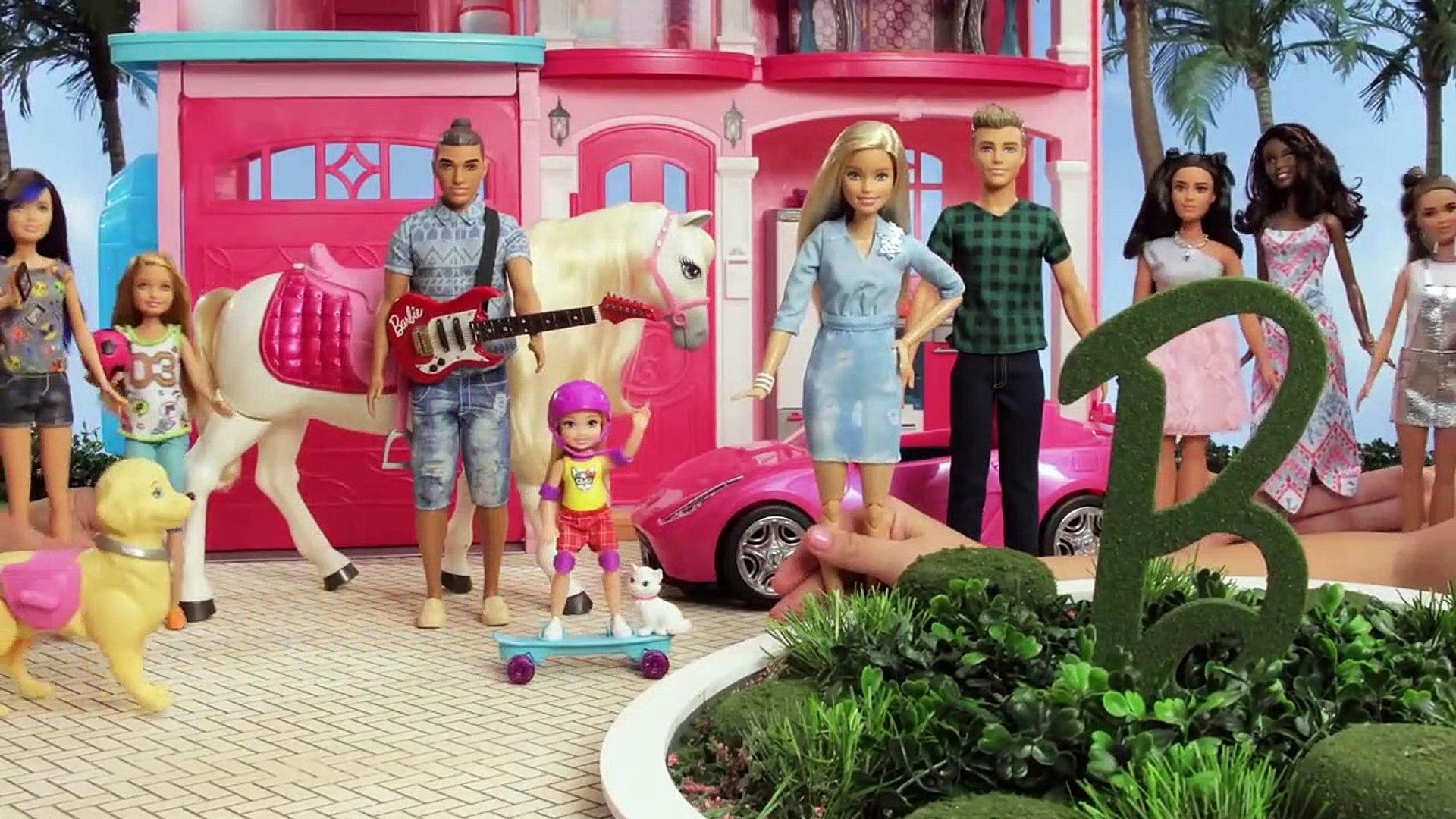 L'avion de Barbie | Barbie LIVE! In The Dreamhouse | Barbie France