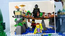 LEGO Ninjago mvie STOP MOTION w/ Garmadon vs The Bridge | LEGO Ninjago | By LEGO Worlds