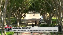 Life & Info: Daily 10-minute-walk can help prevent disability in arthritis sufferers