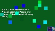 R.E.A.D New Zealand ABCs: A Book about the People and Places of New Zealand (Country ABCs)