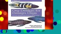 [GIFT IDEAS] Org Design for Design Orgs by Peter Merholz