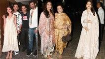 Alia Bhatt, Varun Dhawan, Aditya Roy Kapur & other attend Kalank screening; Watch Video | FilmiBeat