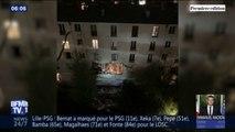 Un blessé grave et un léger lors d'une explosion dans un immeuble du 18e arrondissement de Paris, les dégâts sont impressionnants