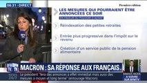 Emmanuel Macron a tenu deux réunions à l'Élysée hier soir, voici les mesures que le Président pourrait annoncer ce lundi