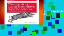 [MOST WISHED]  Designing Data-Intensive Applications: The Big Ideas Behind Reliable, Scalable,