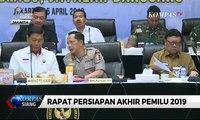 Pimpin Rapat Persiapan Akhir Pemilu, Wiranto: Semua Harus Jaga Pemilu Aman & Lancar