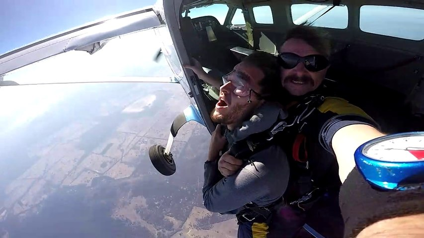 Australie - Skydive Tandem Nagambie Cedric