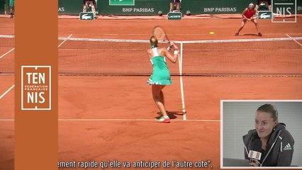 Mes hot shots - Kristina Mladenovic
