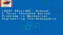 [BEST SELLING]  Schaum s Three Thousand Solved Problems in Mechanical Engineering Thermodynamics