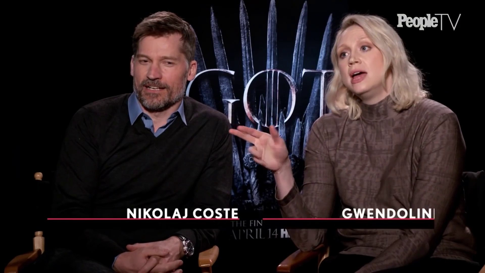 Game Of Thrones- Nikolaj Coster-Waldau & Gwendoline Christie's Relationship - Entertainment