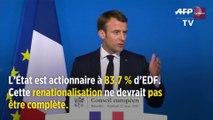 L'Élysée prépare la renationalisation partielle d'EDF